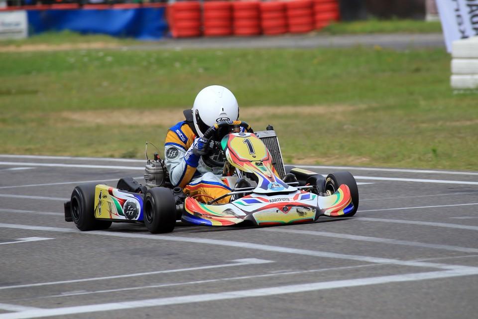 Beule Kart Racing Team in den Top-Fünf