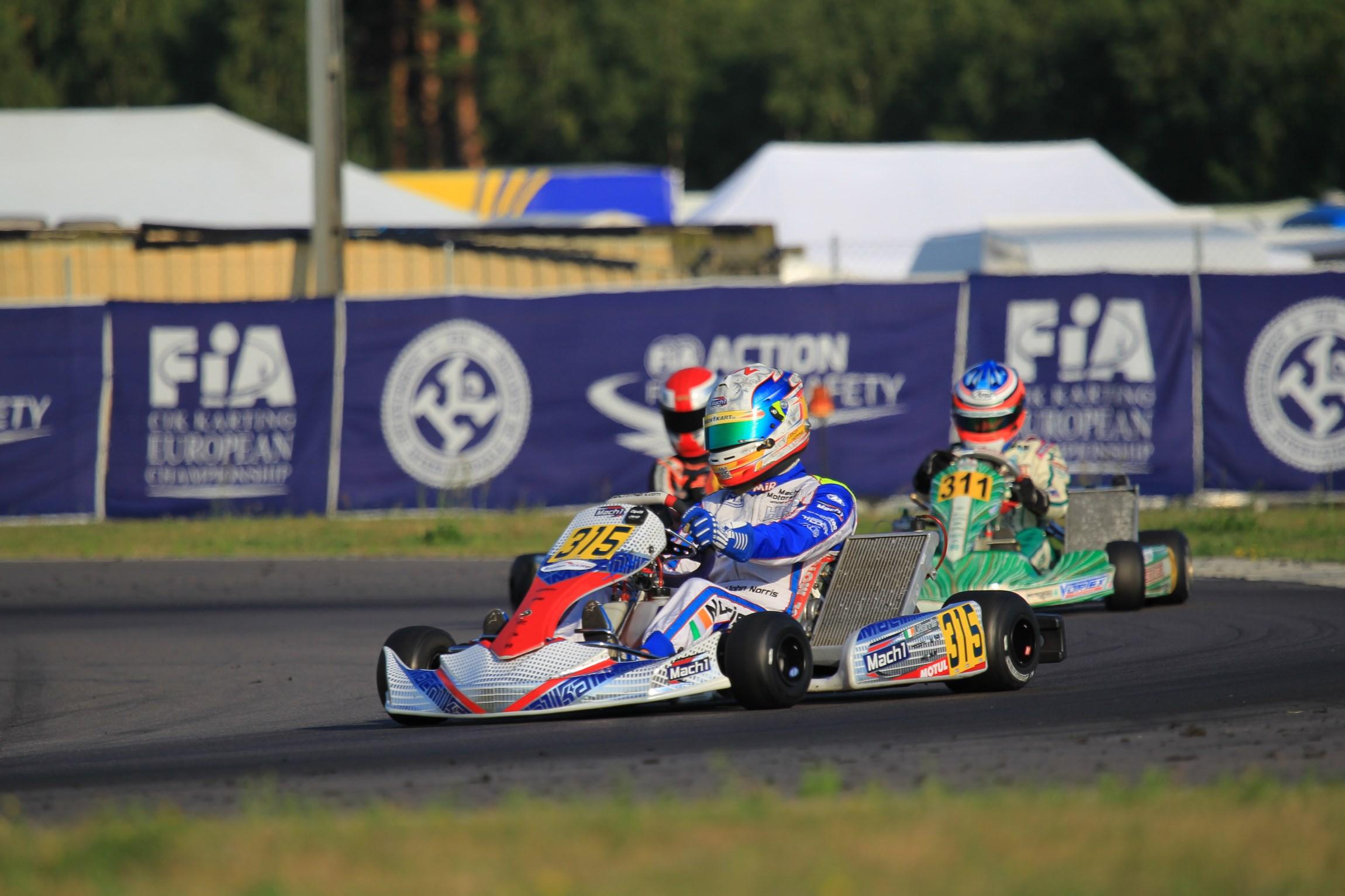 Mach1 Kart beendet EM in den Top-Ten