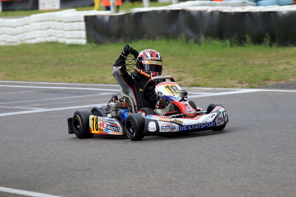Doppelsieg für DS Kartsport-Pilot Miroslaw Kravchenko