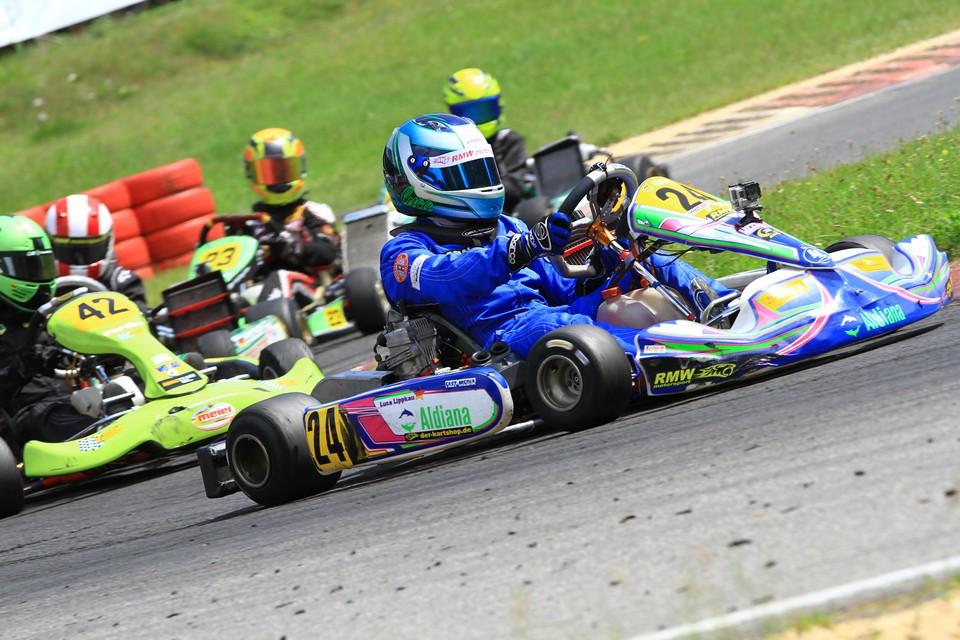 Nächstes Rennen – nächster Sieg: Luca Lippkau