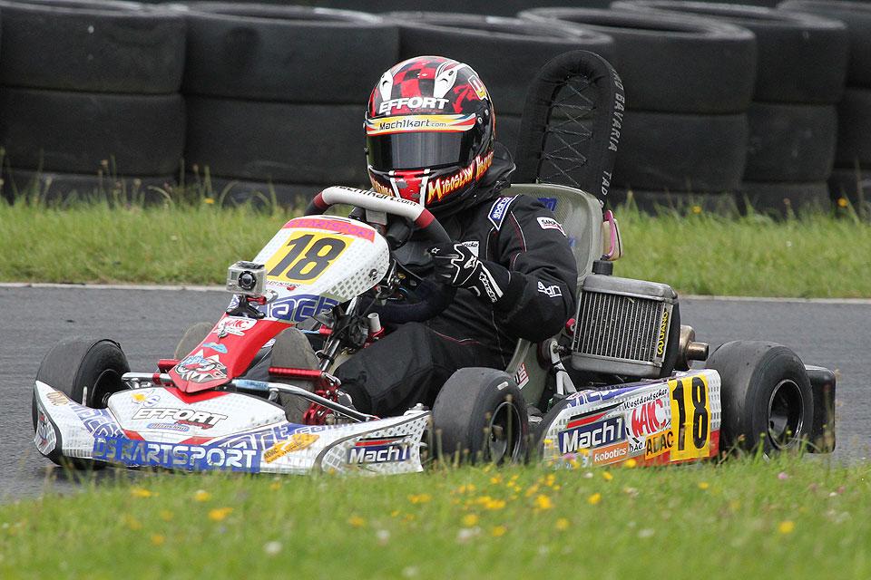 DS Kartsport Pilot Miroslaw Kravchenko Vizemeister der Bambini