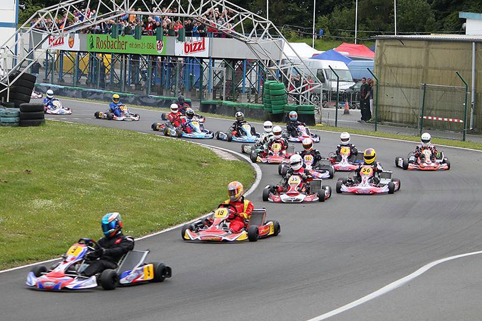 Auftakt des DSW Kart Cup in Liedolsheim