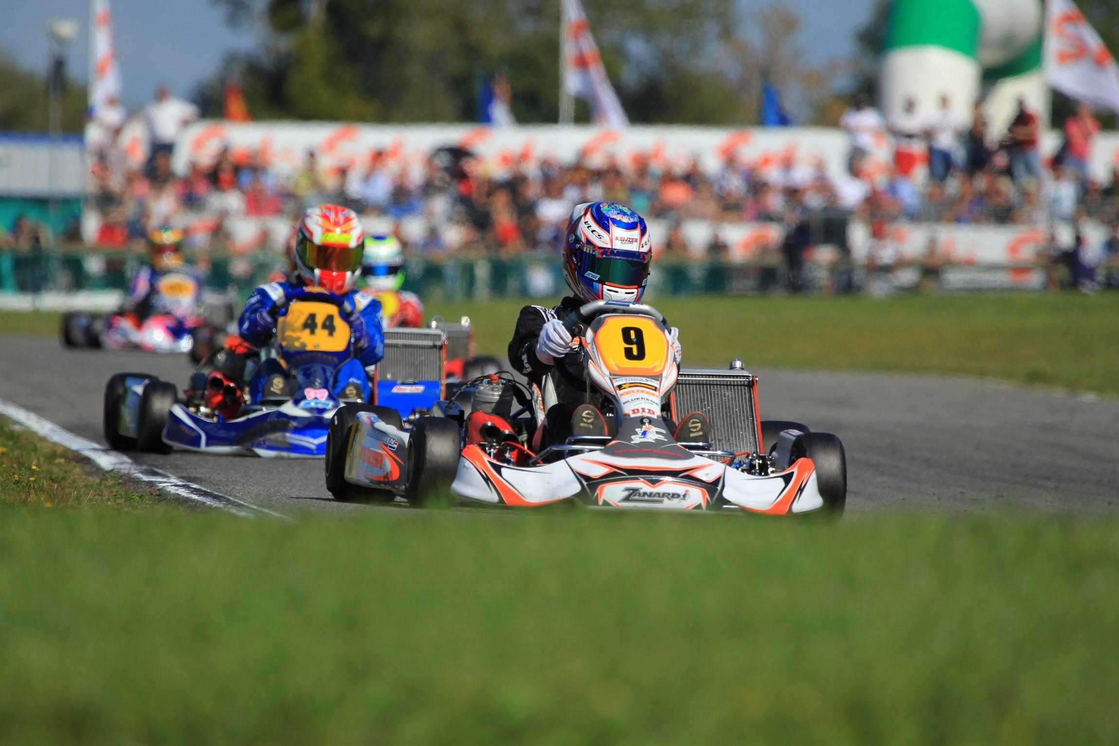 Martijn van Leeuwen wird Fünfter in Kart Weltmeisterschaft