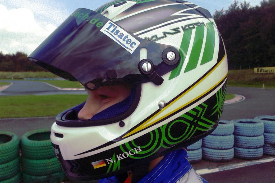 Niklas Koch ist Vizemeister im ACV Rhein-Main Kart-Cup