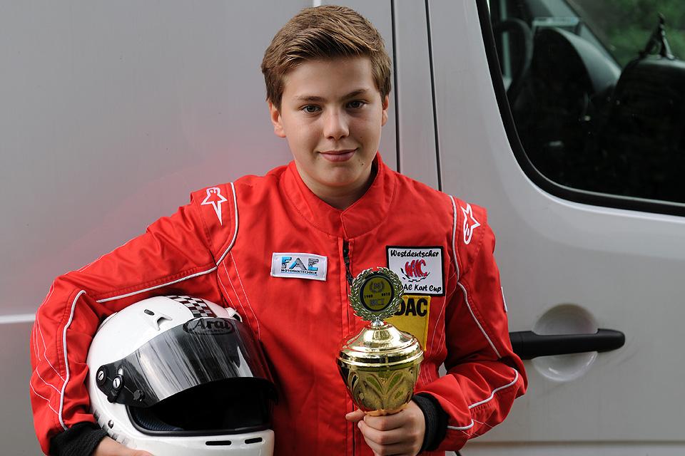 Jan Hendrik Heimbach gewinnt WAKC-Vizemeistertitel