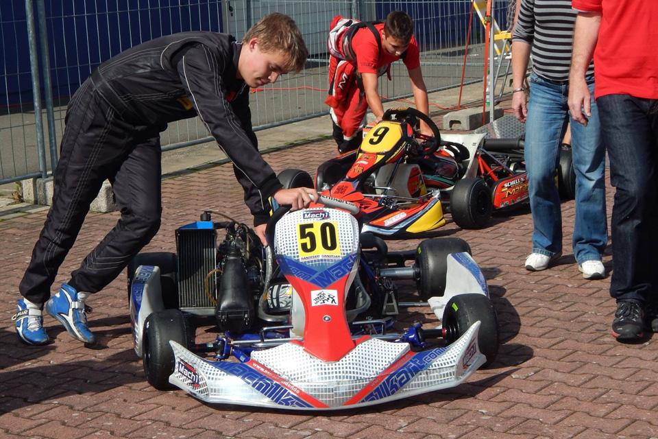 DS Kartsport mit Alex Schneider auch im KCT Pokal vorn