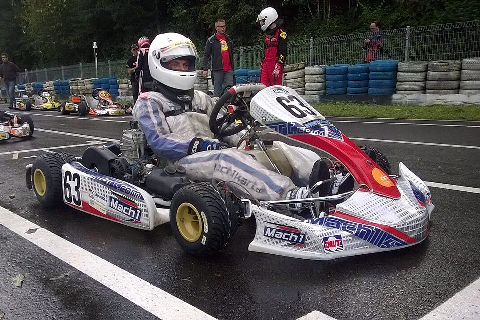 DS Kartsport Pilot Thorsten Guggolz Champion im BWKC