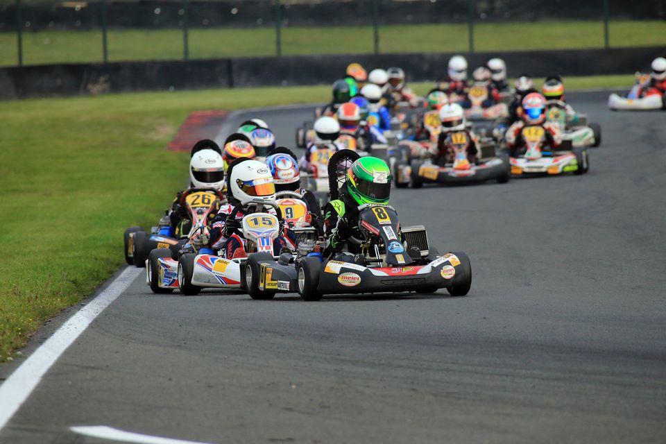 Wetterkapriolen und neue Sieger beim ADAC Kart Masters