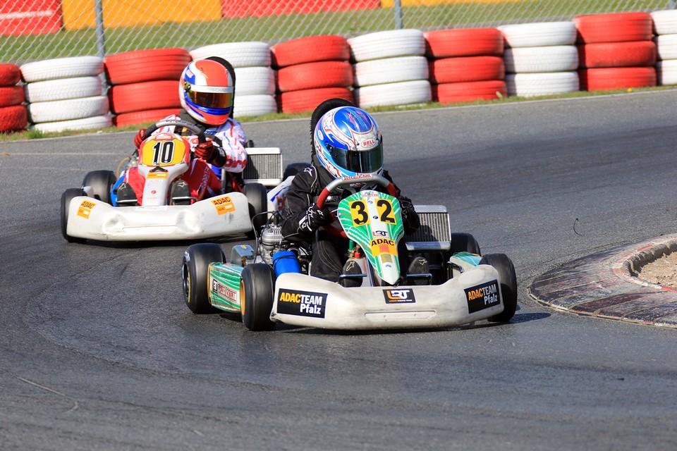 Lanari Racing Team in Wackersdorf vom Glück verlassen