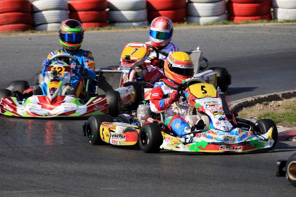 Niklas Krütten: Bester Youngster im ADAC Kart Masters-Finale