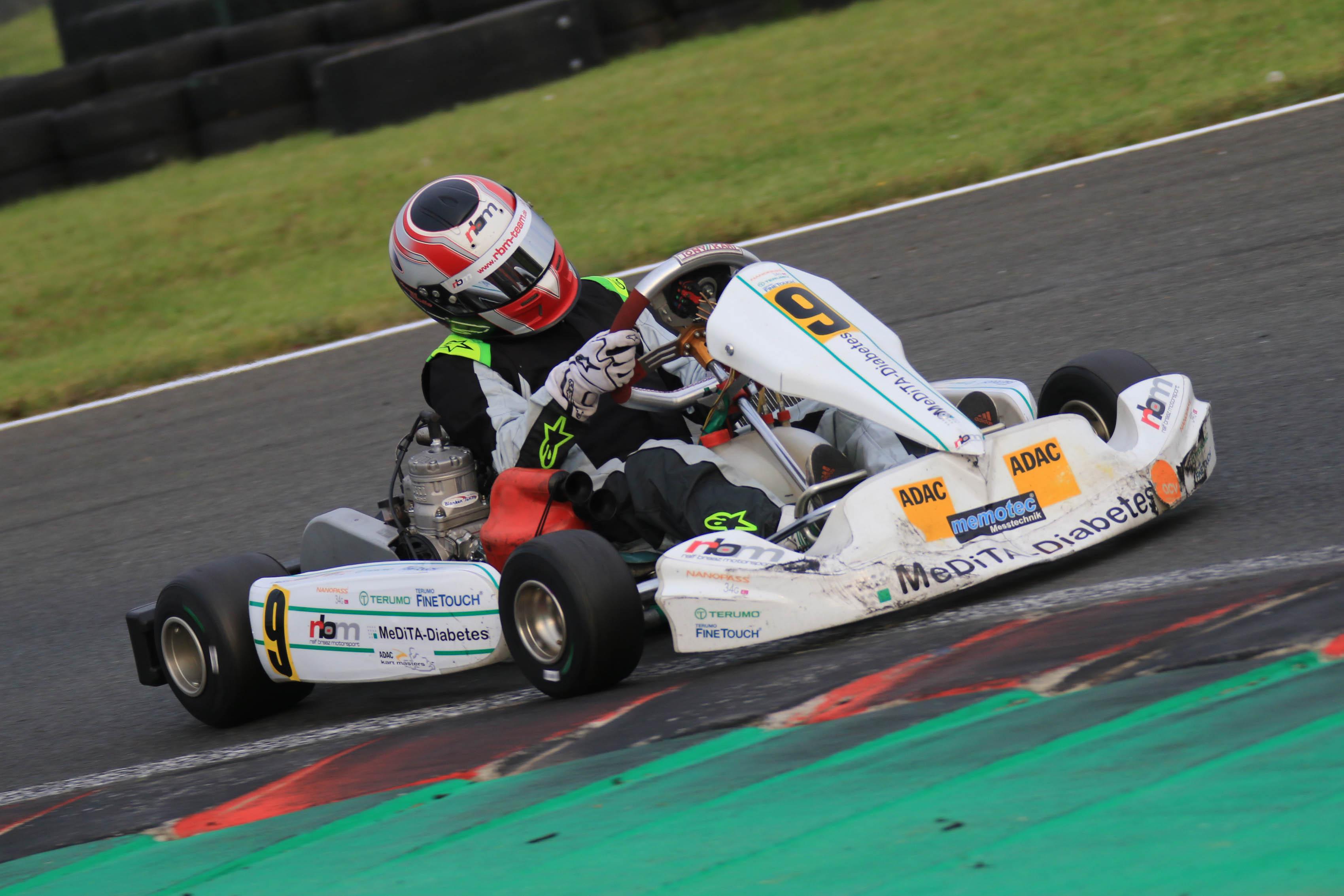 RBM Racing Team: Jan Vincent Stolle feiert bestes Saisonergebnis