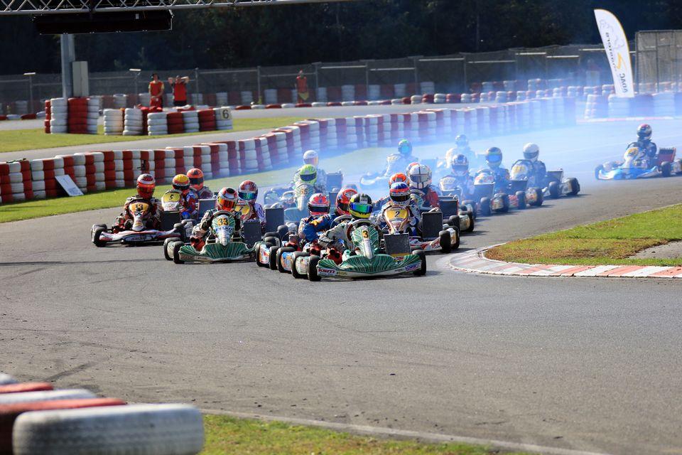 Spannendes ADAC Kart Masters-Finale in Wackersdorf