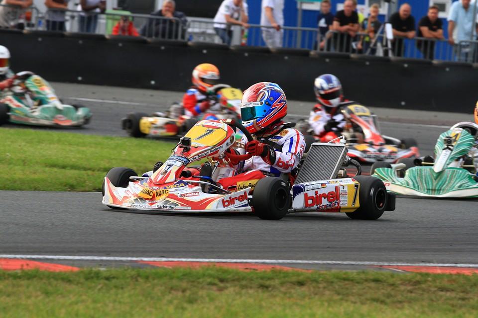 Luke Wankmüller landet erneut in den Top-Ten