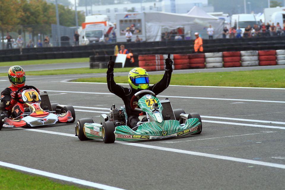 RMW Motorsport feiert weiteren ADAC Kart Masters-Sieg