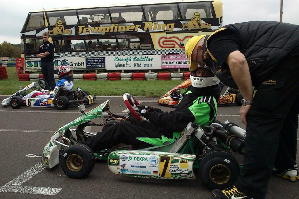 ADAC Bundesendlauf: Janne Henke wird Dritter