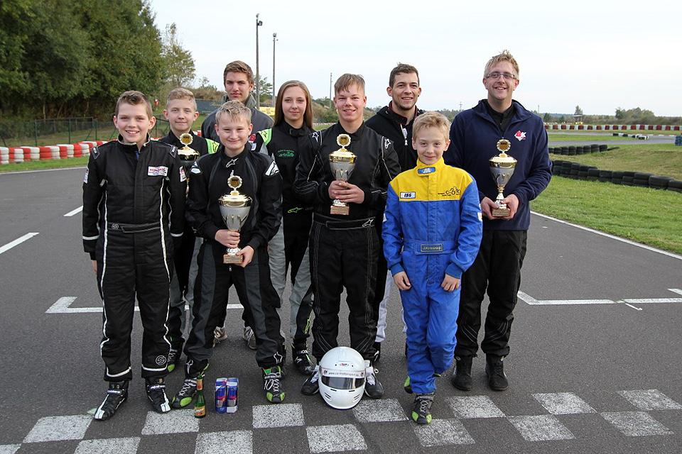 Beule Kart Racing-Team erfolgreich beim ADAC Bundesendlauf