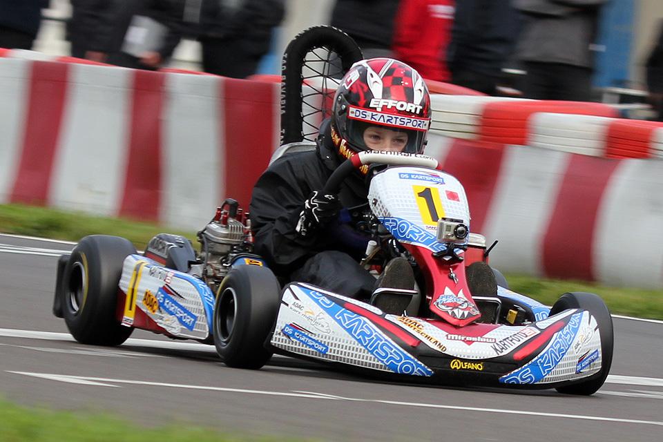 DS Kartsport Pilot Miroslaw Kravchenko mit Gesamtsieg in Kerpen