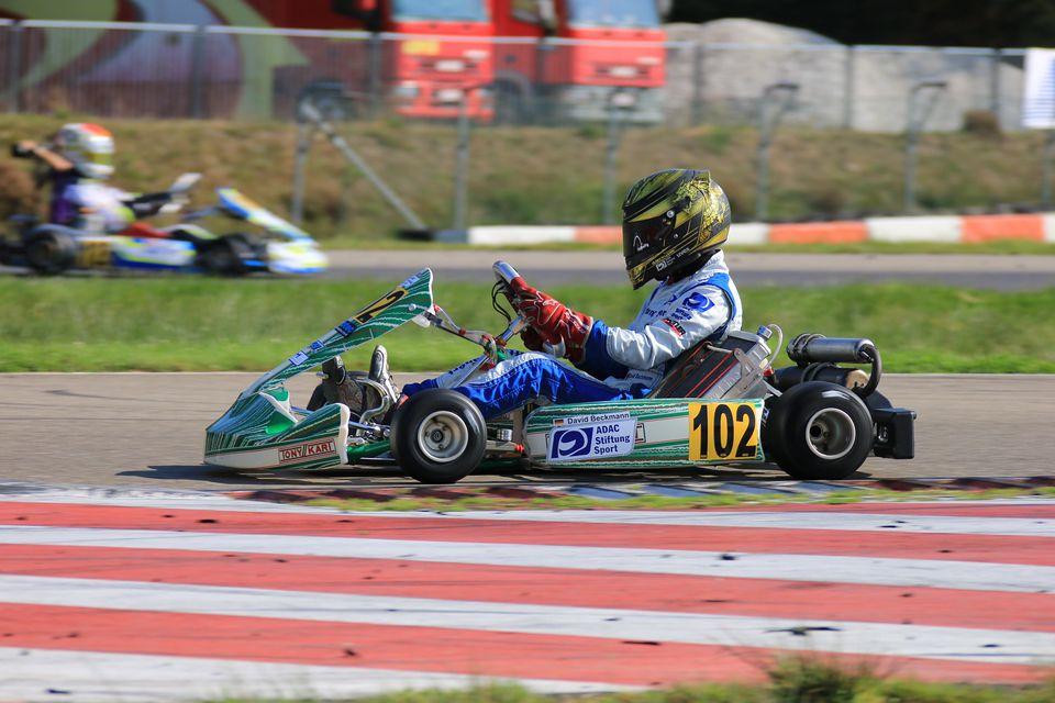 David Beckmann ist neuer Deutscher Junioren Kart Meister