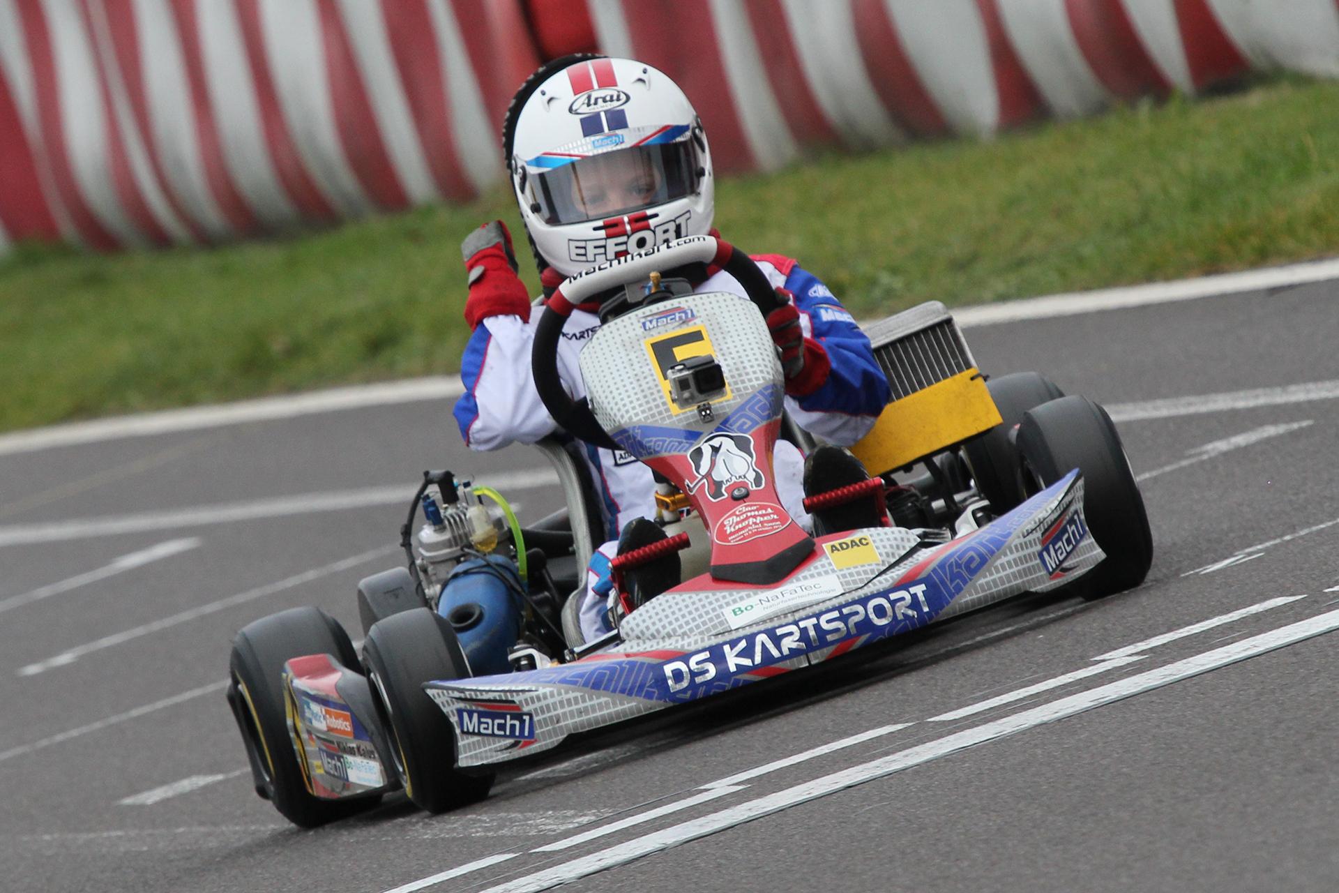 Niklas Kalus in den Top-Fünf beim Bundesendlauf