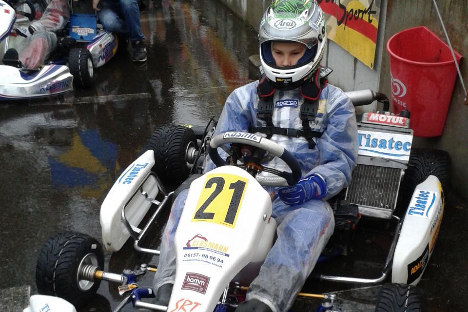 Niklas Koch mit zwei Mal Pech beim ADAC Kart Bundesendlauf