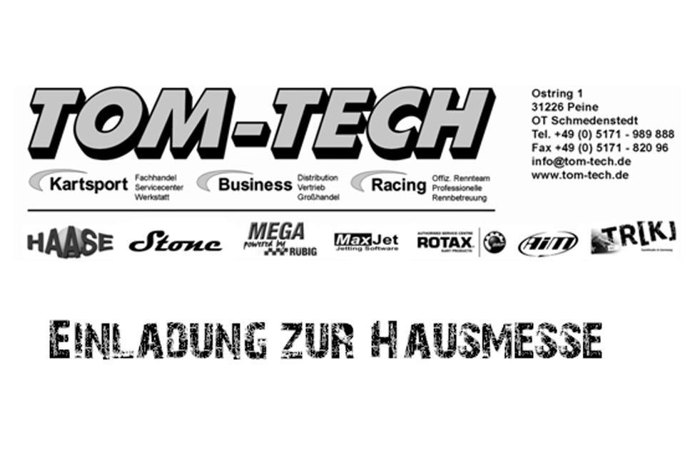 Hausmesse bei TOM-TECH Motorsport mit fetten Rabatten