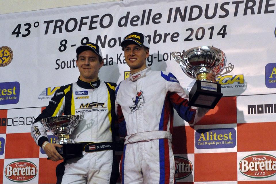 Podium für MSR-Motorsport bei der Trofeo delle Industrie
