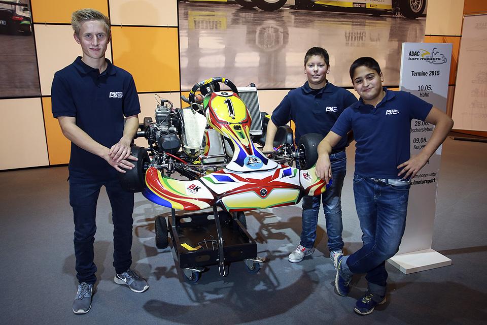 ADAC Stiftung Sport: Vier Talente im Kartsport
