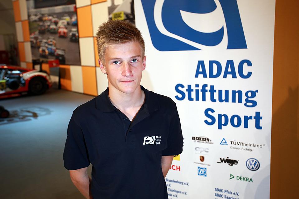 Jannes Fittje neuer Förderpilot der ADAC Stiftung Sport