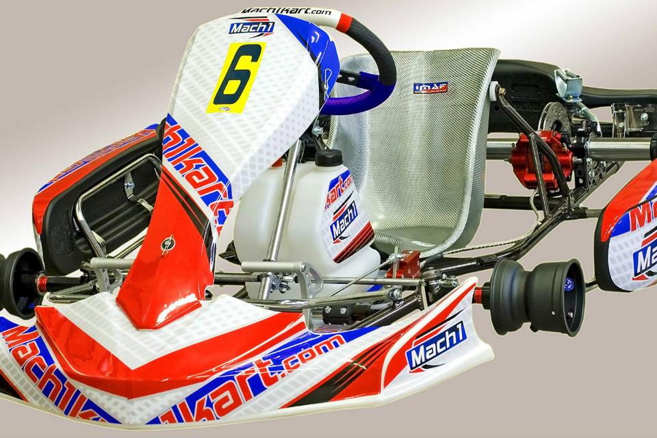 Mach1 Kart präsentiert neues Chassis