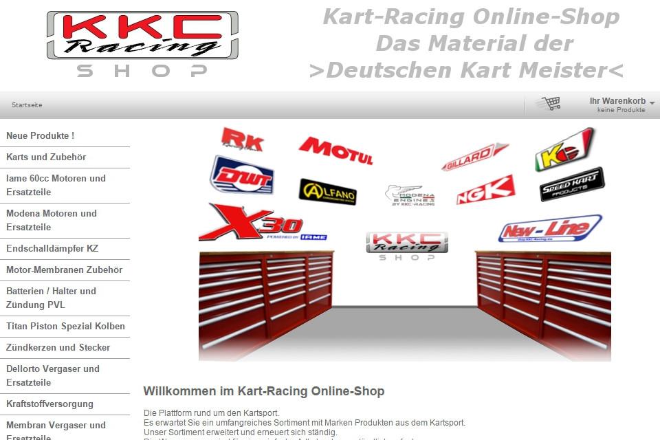 KKC Racing startet mit neuem Online-Shop durch