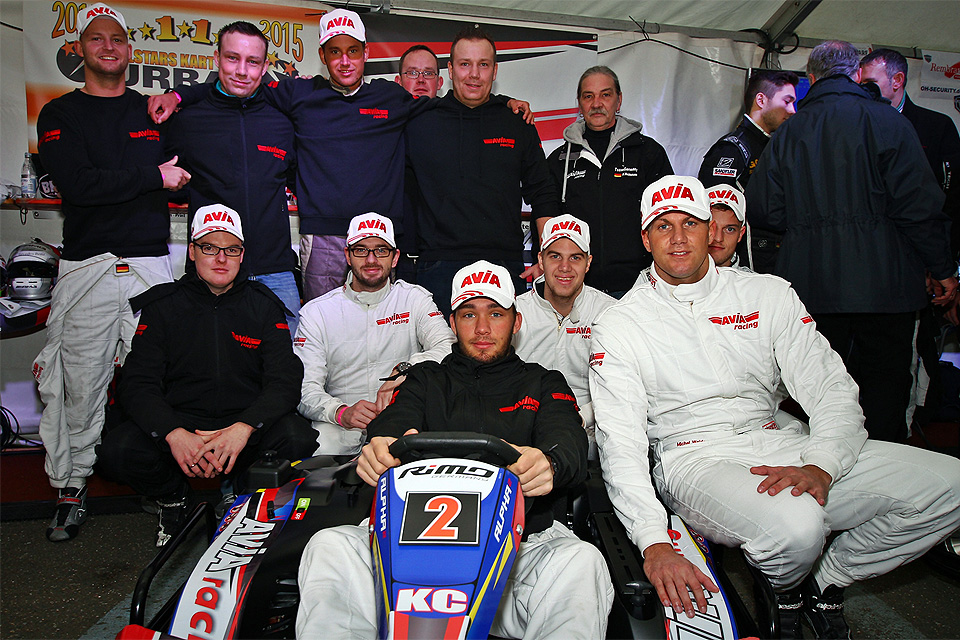 Podiumserfolg bei den 24 Stunden von Köln für AVIA racing