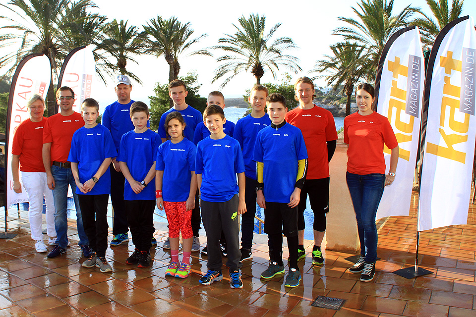 Kartfahrer machen sich auf Mallorca fit