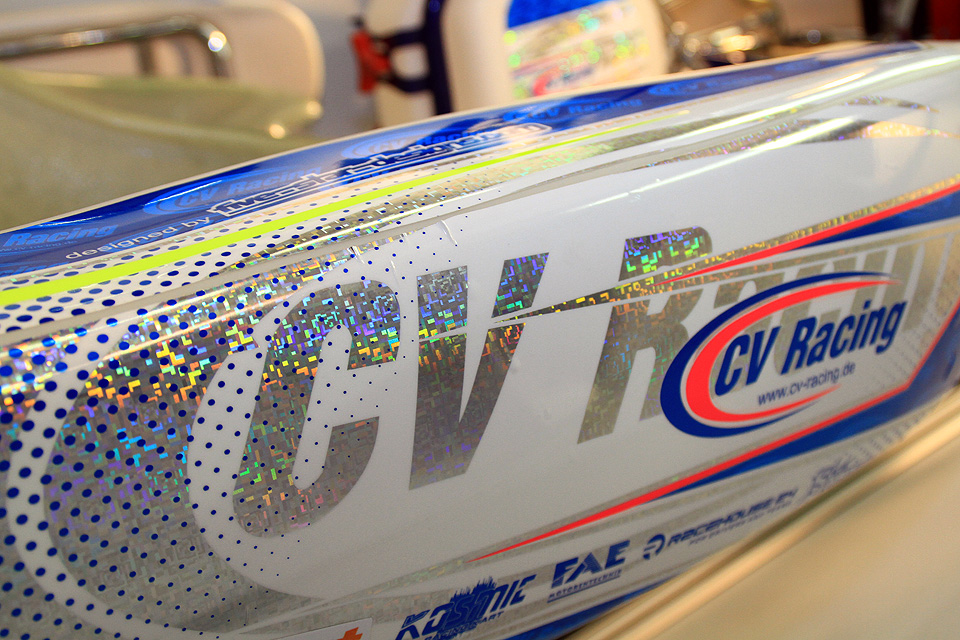 CV Racing gewinnt starke Partner