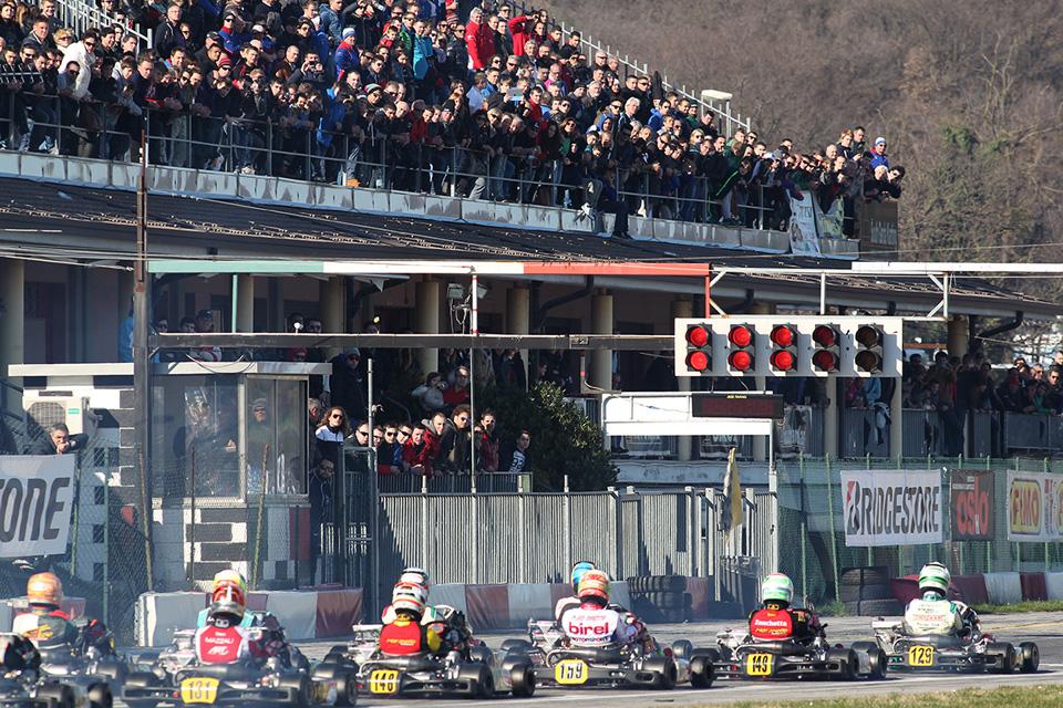 253 Fahrer beim Lonato Winter Cup