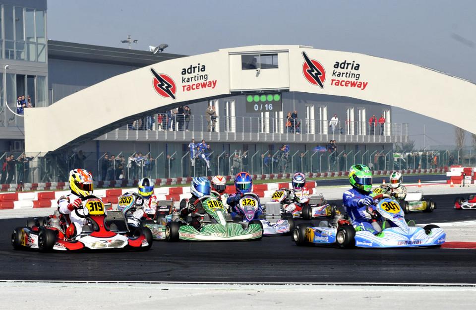 WSK Gold Cup startet auf dem Adria Raceway