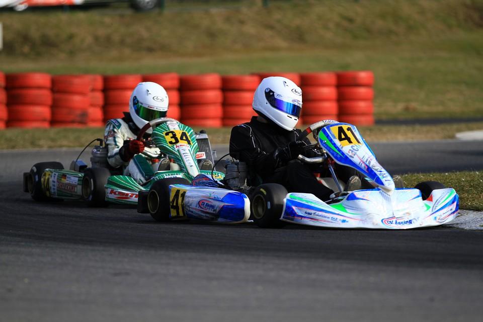 CV Racing fährt auf Winterpokal-Podium