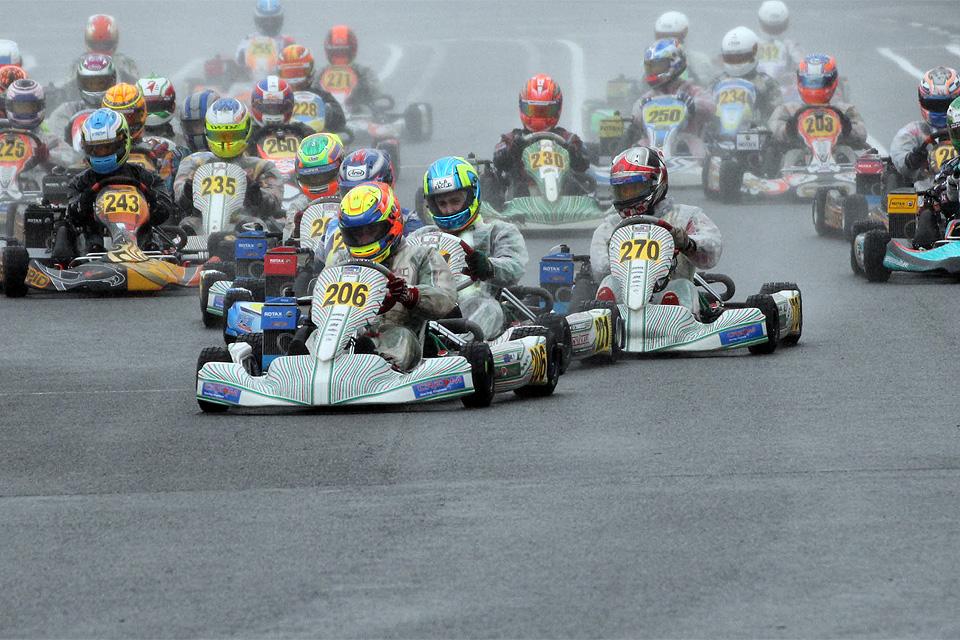Wet-Race-Action in den Vorläufen zur Euro Challenge