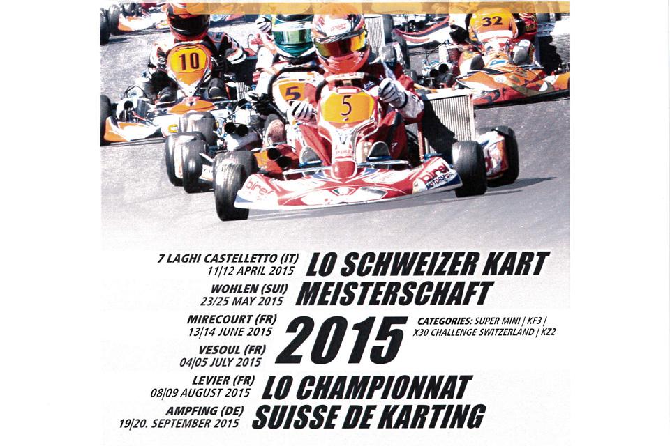 Carex Autozubehör AG neuer Partner der LO Schweizer Kart Meisterschaft
