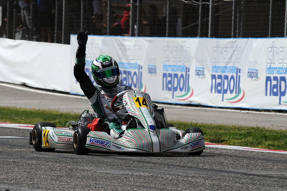 Schaltkart-EM: Tony Kart-Erfolg in Sarno