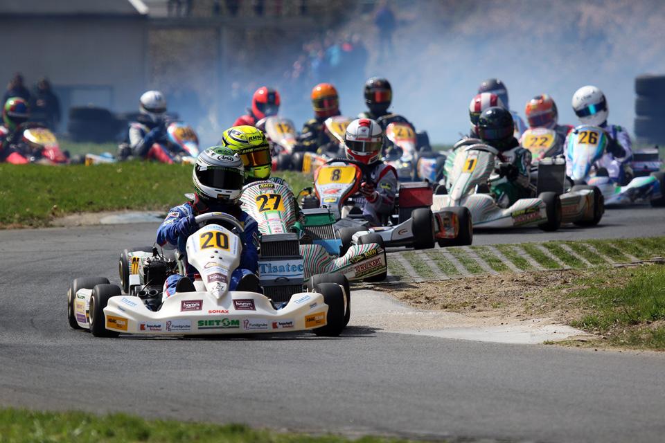 Sonnige WAKC-Rennen in Hagen