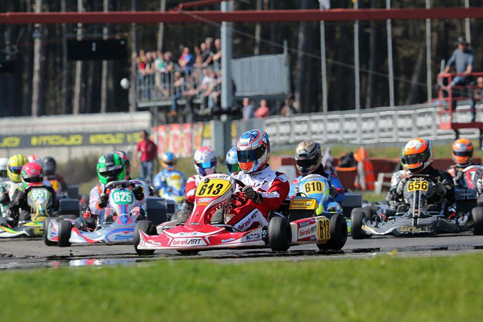 Saisonauftakt nach Maß: BNL Karting Series in Genk