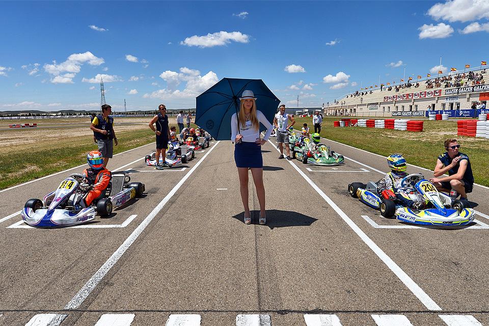 Berufsziel Formel-1-Fahrer: Mit dem eigenen Kart auf die Rennstrecke