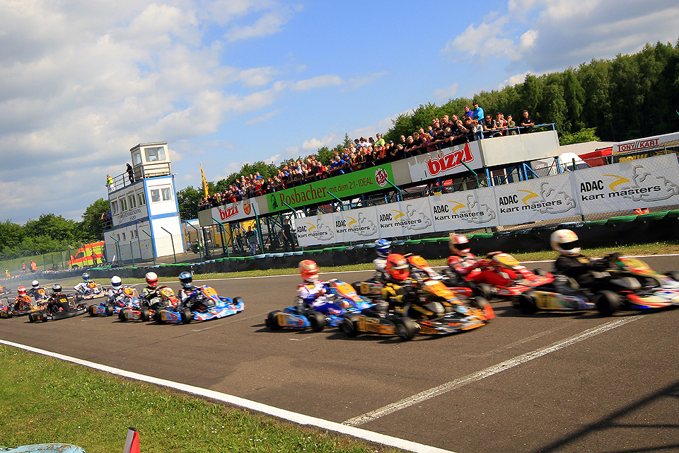 ADAC Kart Masters startet in achte Saison