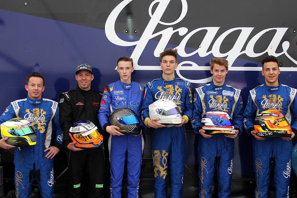 M-Tec Praga Racing startet mit Doppelsieg in die Saison