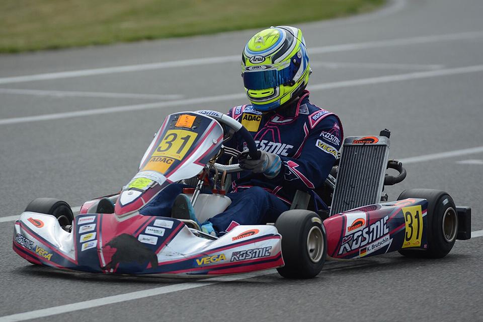 Gelungener Gast-Einsatz für Kevin Brutschin beim ACV Rhein-Main Kart-Cup