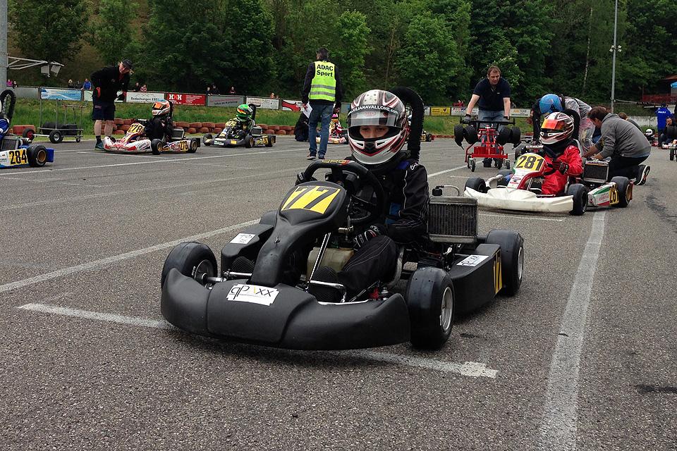Julian Avallone mit starker Leistung im ADAC Kart Cup