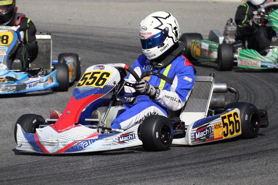 Mark Wolff überzeugt im ADAC Kart Cup
