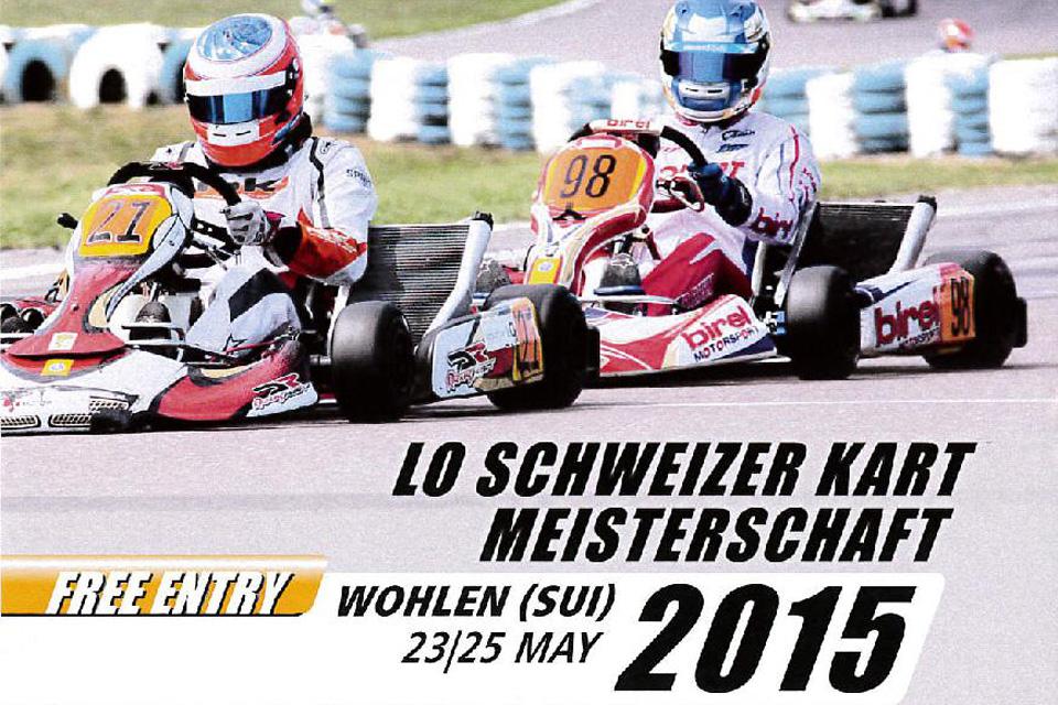 Back to the Roots – Schweizer Kart Meisterschaft in Wohlen
