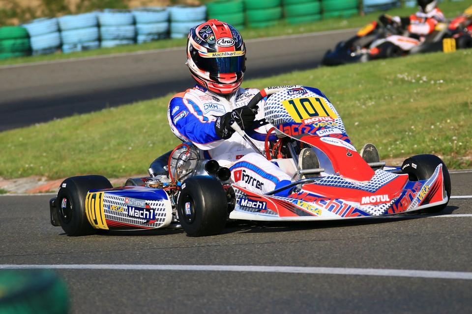 Mach1 Kart erfolgreich im ADAC Kart Masters