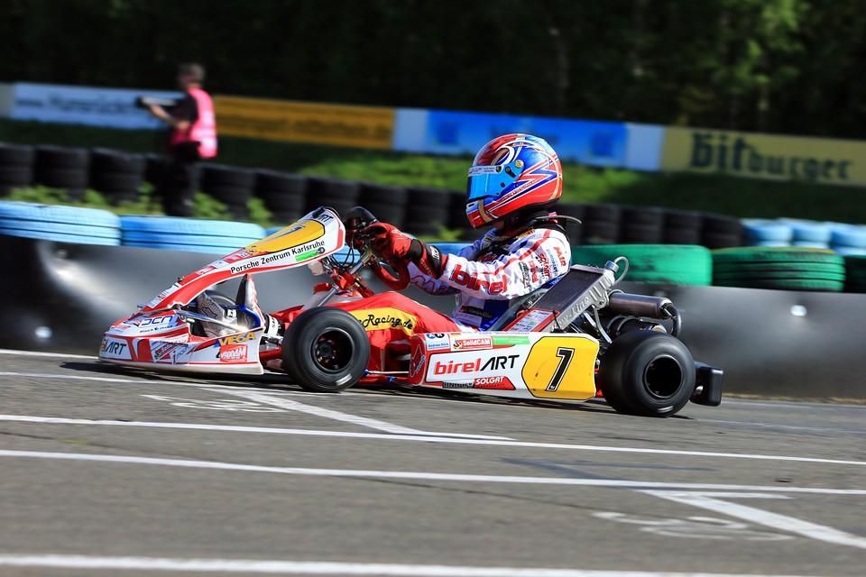 Luke Wankmüller auf der Jagd nach Meisterschaftspunkten